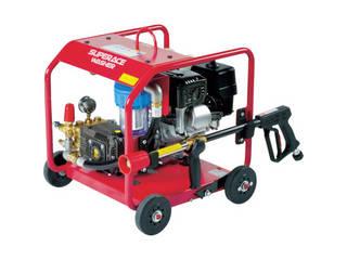 【組立・輸送等の都合で納期に4週間以上かかります】 SUPER INDUSTRIES/スーパー工業 【代引不可】エンジン式 高圧洗浄機 SER-2308-5