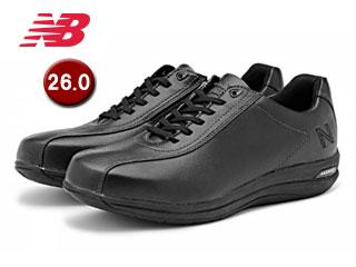 NewBalance/ニューバランス MW863-BK2-2E トラベルウォーキングシューズ メンズ 【26.0】【2E(標準)】(ブラック)