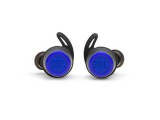 JBL ジェイビーエル フルワイヤレスイヤホン REFLECT FLOW(リフレクトフロー) ブルー JBLREFFLOWBLU リモコン・マイク対応 /ワイヤレス(左右分離) /Bluetooth スポーツシーンにも通勤、通学にも便利な機能搭載