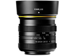★メーカー在庫僅少の為、納期にお時間がかかる場合があります KAMLAN/カムラン KAM0015 21mm F1.8 Fuji X用 フジフィルムXマウント
