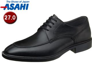 【nightsale】 ASAHI/アサヒシューズ AM33081 TK33-08 通勤快足 メンズ・ビジネスシューズ 【27.0cm・3E】(ブラック)