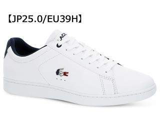 LACOSTE/ラコステ CARNABY EVO 119 7 (ホワイト×ネイビー×レッド) SMA0013 サイズ39H(25.0)