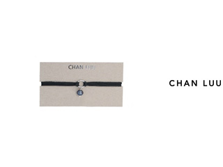 CHAN LUU/チャンルー 淡水パール ロングチョーカー NSZ-13086(PEACOCK BLUE BLACK) チャンルーオリジナル巾着袋付き!
