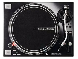 Reloop/リループ RP-7000 MK2(ブラック) クラブ仕様DJターンテーブル