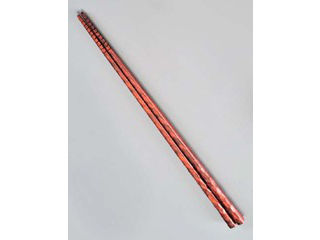 積層 菜箸 朱面 全長325mm