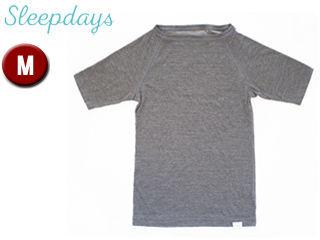 TWO/トゥー 00181 Sleepdays リカバリー ショートスリーブTシャツ メンズ 【M】 (GRAY)