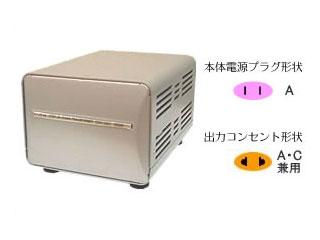 カシムラ NTI-18 海外国内用大型変圧器 【220-240V/1000VA】