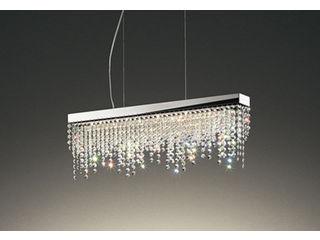 ODELIC/オーデリック OC257132BC LEDシャンデリア クリスタルガラス【Bluetooth 調光・調色】※リモコン別売