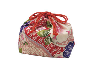 TATSUMIYA/たつみや 巾着袋 桜ピンク