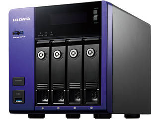 I・O DATA アイ・オー・データ Windows Server IoT 2019 for Storage Workgroup/Celeron搭載4ドライブ法人向けNAS 4TB HDL4-Z19WCA-4