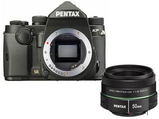 PENTAX/ペンタックス KPボディキット(ブラック)+DA 50mmF1.8 中望遠レンズセット 【kpset】