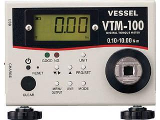 【組立・輸送等の都合で納期に1週間以上かかります】 VESSEL/ベッセル 【代引不可】トルクメーター VTM-100