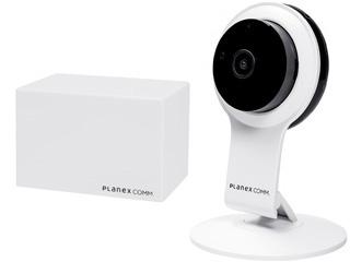 PLANEX/プラネックスコミュニケーションズ ネットワークカメラ スマカメ フルHD CS-QR100F+スマカメ クラウドレコーダー DB-WRT01-CR同時購入セット
