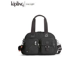 de7cbe98493b KIPLING/キプリング DEFEA/ディフィア ハンドバッグ (True Black/トゥルーブラック) 《正規代理店品》 【高級】