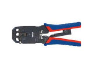 KNIPEX/クニペックス プラグ用圧着ペンチ 200mm 9751-12