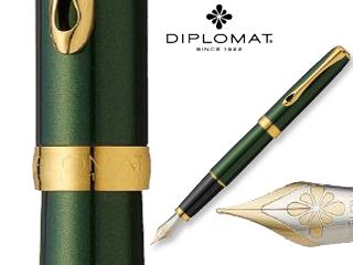 DIPLOMAT/ディプロマット 【Excellence A/エクセレンスエー】エバーグリーン ゴールド 14K FP (F)