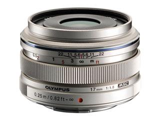 OLYMPUS/オリンパス 【集合写真から風景まで撮れるスナップレンズ】M.ZUIKO DIGITAL 17mm F1.8 シルバー 単焦点レンズ