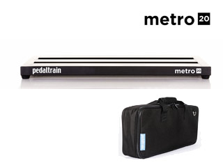 Pedaltrain/ペダルトレイン 【納期未定】Pedaltrain Metro 20(ペダルトレイン メトロ20) 【PT-M20-SC】 【エフェクトボード】【エフェクターケース】【PTEFF】 (ソフトケース付きモデル)