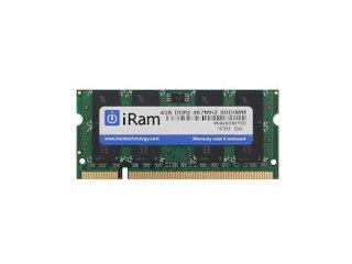 iRam Technology DDR2 PC2-5300 200pin 4GB SO-DIMM IR4GSO667D2