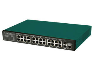 パナソニックLSネットワークス 10/100/1000Mbps24ポート+SFP2スロット ギガスイッチイングハブ PN28240i Switch-M24eGi