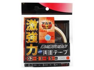 WAKI 倉 和気産業 激強力両面テープ 薄さ0.2mm×幅3mm×長さ5m マルチ WKG006 美品