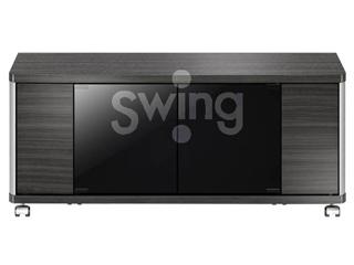ASAHI/朝日木材 AS-GD960H テレビ台 Swing ハイタイプ 20kg以下 ~42V型対応 GD style ※要組立商品 クローズタイプ
