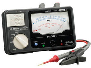 HIOKI/日置電機 メグオームハイテスタ IR4033-11