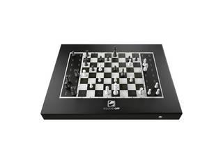 FOX Square Off (スクエアオフチェスセット) Black Edition SQF-GKS-B21 ・オンライン対局チェス(駒は自動で動きます) ・IoT玩具