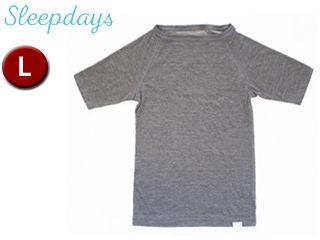 TWO/トゥー 00198 Sleepdays リカバリー ショートスリーブTシャツ メンズ 【L】 (GRAY)