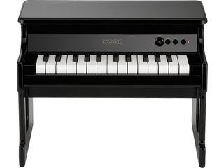 KORG/コルグ tinyPIANO-BK デジタル・トイ・ピアノ (ブラック) 【子ども用】【ミニピアノ】【贈り物】【入園祝い】