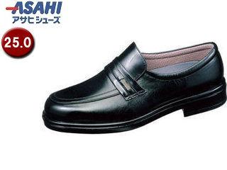 【nightsale】 ASAHI/アサヒシューズ AM31261 TK31-26 通勤快足 メンズ・ビジネスシューズ【25.0cm・4E】 (ブラック)