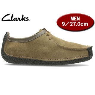 Clarks/クラークス 26118170 NATALIE ナタリー メンズ 【JP27.0/UK9.0】(オークウッドスエード)