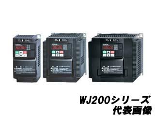 HITACHI/日立産機システム 【代引不可】WJ200-004LF インバータ (ブラック)