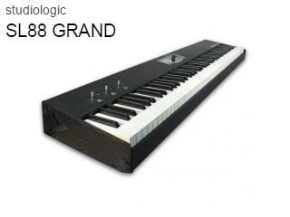 Studiologic/スタジオロジック SL88 GRAND 【MIDIマスターキーボード】【ハンマーアクション鍵盤】【88鍵】