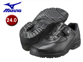 mizuno/ミズノ B1GC1526-09 LD40 Boa メンズウォーキングシューズ 【24.0】 (ブラック)