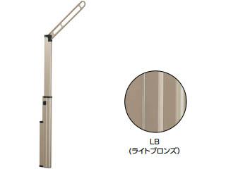 KAWAGUCHI/川口技研 DS2-60-LB 腰壁用ホスクリーン 上下式 スライド収納タイプ (ライトブロンズ)