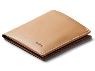 Bellroy/ベルロイ 本革財布/スキミングガード■ノートスリーブ【タン】■(BRWNSC-TAN-301) ※天然のレザーを使用しておりますので、多少のシワなどがある場合がございます。予めご了承ください。 財布 スリム 二つ折り 名刺 カード 小銭 お札