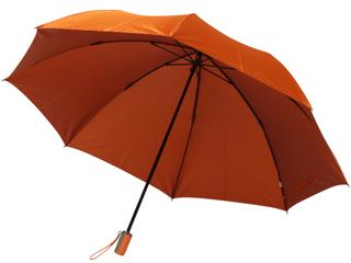 Geecle Japan/ギークルジャパン 甲州織雨傘 ドット 折りたたみ傘 (オレンジ) 手開き HH-02580
