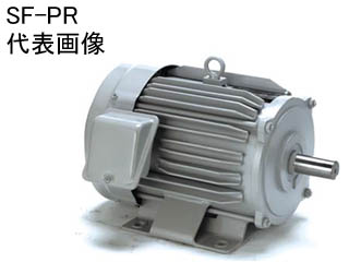 MITSUBISHI/三菱電機 【代引不可】SF-PR 1.5KW 4P 200V スーパーラインプレミアムシリーズ SF-PR形 (グレー)