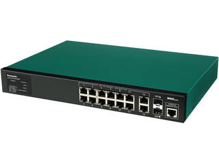 パナソニックESネットワークス 給電機能付 14ポート+SFP2スロット スイッチングハブ PN28128S SK-EML12TPoE+
