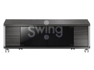 ASAHI/朝日木材 AS-GD960L テレビ台 Swing ロータイプ 20kg以下 ~42V型 GD style ※要組立商品 クローズタイプ