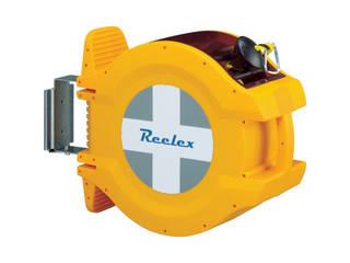 CHUHATSU/中発販売 Reelex バリアロープリール(ロープ長さ20m) BRR-1220