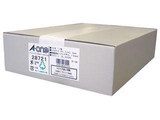 A・one/エーワン パソコン&ワープロラベルNEC2列 500シート入 28721