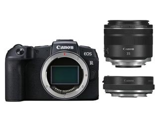 【EOS RPキャッシュバック&プレゼントキャンペーン中!6月30日まで】 CANON/キヤノン EOS RP RF35 MACRO IS STM マウントアダプターキット ミラーレスカメラ 限定モデル 3380C049 ※限定品のため、完売の際はご容赦下さい