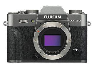 <title>小型軽量ボディに最新のイメージセンサー 画像処理エンジンを搭載し 高速 2020モデル 静音連写性能で決定的瞬間を逃さない FUJIFILM フジフイルム F X-T30-CS チャコールシルバー X-T30 ボディ ミラーレスデジタルカメラ</title>