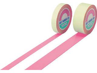 J.G.C./日本緑十字社 ガードテープ(ラインテープ) ピンク 50mm幅×100m 屋内用 148067