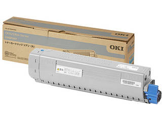 OKI/沖データ トナーカートリッジ シアン(大) (C844dnw/835dnwt/835dnwn) TC-C3BC2