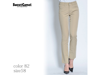 Sweet Camel/スイートキャメル テーパードストレート【82=カーキ/サイズ58】(SA9352)