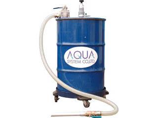 【組立・輸送等の都合で納期に1週間以上かかります】 AQUA/アクアシステム 【代引不可】吐出吸入兼用 エア式ドラム缶用ろ過クリーナー(不織布タイプ) APDQO-FF