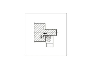 KYOCERA/京セラ 溝入れ用ホルダ GFVTL2020K-HB